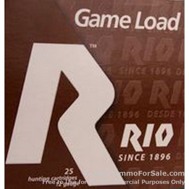250 Rounds of 1 1/16 ounce #8 shot 12ga Ammo by Rio Ammunition