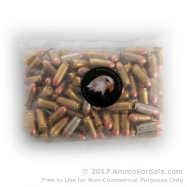 1000 Rounds of 185gr FMJ .45 ACP Ammo by M.B.I.