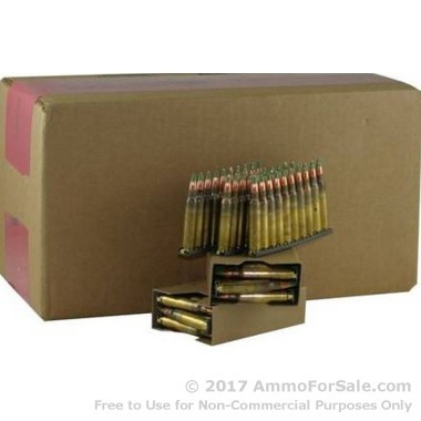 900 Rounds of 62gr FMJ M855 5.56x45 Ammo by Lake City on Stripper Clips