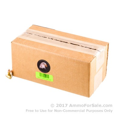50 Rounds of 147gr FMJ 9mm Ammo by M.B.I.