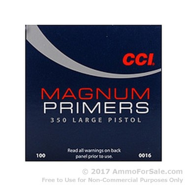 5000 Large Pistol Magnum Primers  by CCI