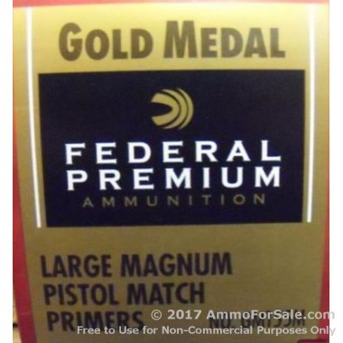 5000 Large Pistol Magnum Primers  by Federal