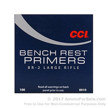 1000 Large Rifle Primers  by CCI