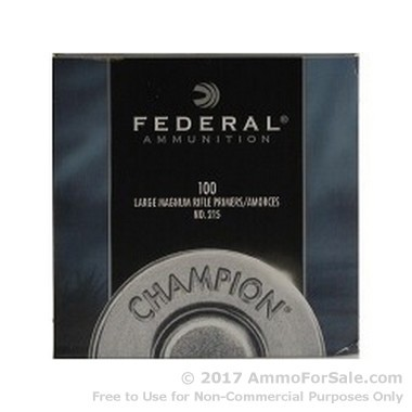 Federal #215 Large Rifle Magnum Primers For Sale!