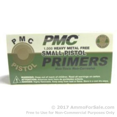 5000 Small Pistol Primers  by PMC