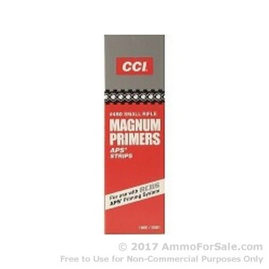 1000 Small Rifle Magnum Primers  by CCI