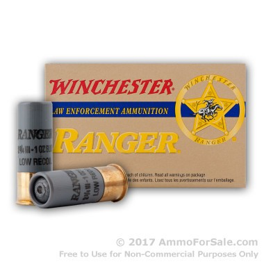 5 Rounds of 1 ounce Rifled Slug 12ga Ammo by Winchester