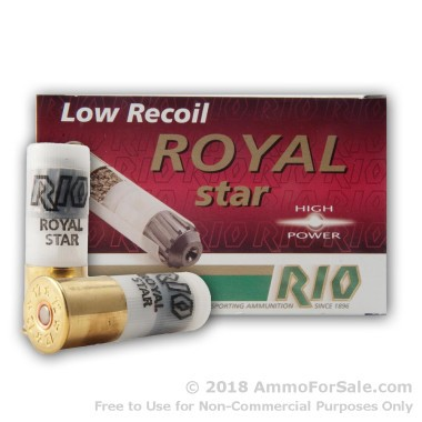 250 Rounds of 1 ounce Rifled Slug 12ga Ammo by Rio Ammunition