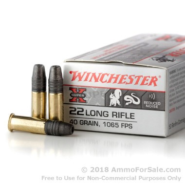 500  Rounds of 40gr TC- HP .22 LR Ammo by Winchester