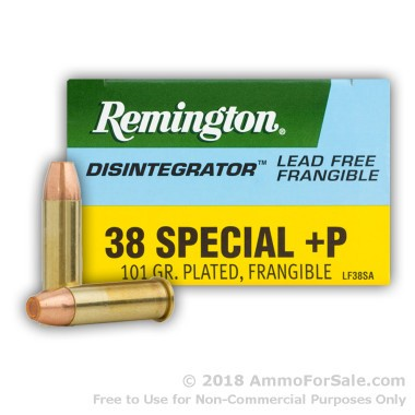 500  Rounds of 100gr PF .38 Spl Ammo by Remington