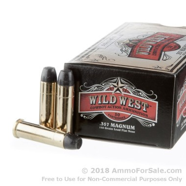 50 Rounds of 158gr LFN .357 Mag Ammo by Sellier & Bellot