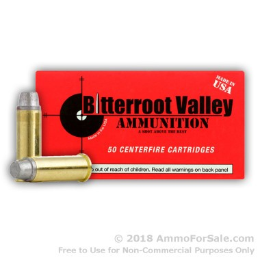 50 Rounds of 158gr LSWC .357 Mag Ammo by BVAC