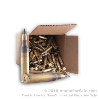 250 Rounds of 62gr FMJ 5.56x45 Ammo by Lake City