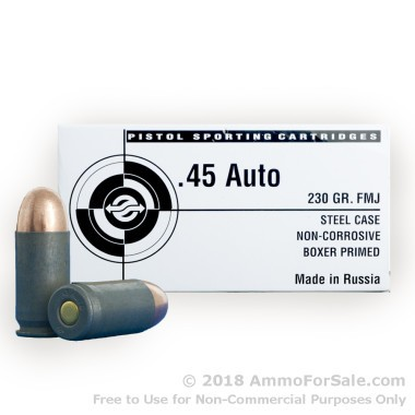 Tula 45 ACP Ammo For Sale