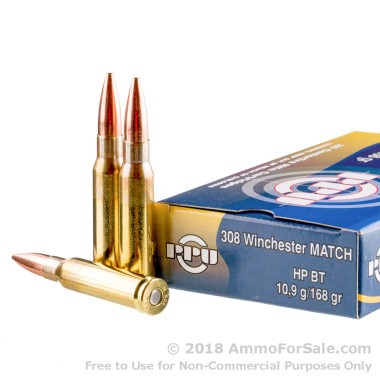 500  Rounds of 170gr HPBT .308 Win Ammo by Prvi Partizan