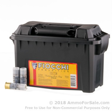80 Rounds of 1 ounce Rifled Slug 12ga Ammo by Fiocchi
