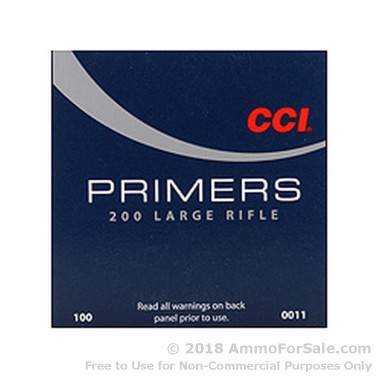 5000 Large Rifle Primers  by CCI