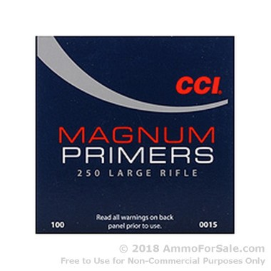 5000 Large Rifle Magnum Primers  by CCI