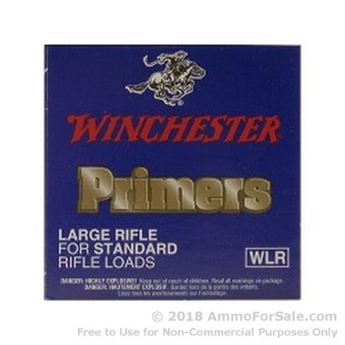 5000 Large Rifle Primers  by Winchester