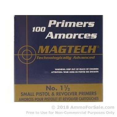 5000 Small Pistol Primers  by Magtech