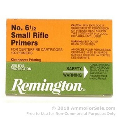 5000 Small Rifle Primers  by Remington