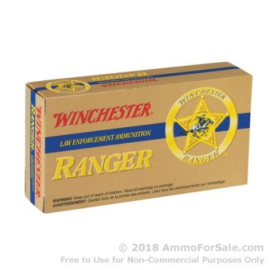 500  Rounds of 110gr JHP .38 Spl Ammo by Winchester