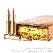 20 Rounds of 180gr Fusion .308 Win Ammo by Federal
