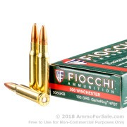 20 Rounds of 165gr Game King HPBT .308 Win Ammo by Fiocchi