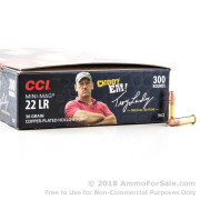 3000 Rounds of 36gr CPHP .22 LR Ammo by CCI Tom Landry Special Edition