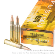 20 Rounds of 62gr Fusion .223 Ammo by Federal