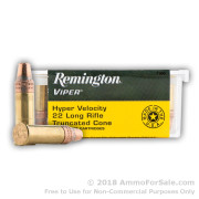100 Rounds of 36gr TC-SB .22 LR Ammo by Remington