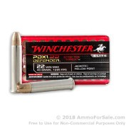 50 Rounds of 40gr JHP .22 WMR Ammo by Winchester