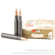 20 Rounds of 145gr FMJ 30-06 Springfield Ammo by Wolf