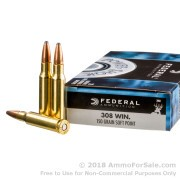 200 Rounds of 150gr SP .308 Win Ammo by Federal