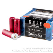 250 Rounds of 7/8 ounce #8 shot 12ga Ammo by Federal