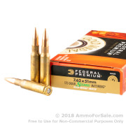 500  Rounds of 175gr HPBT 7.62x51mm Ammo by Federal