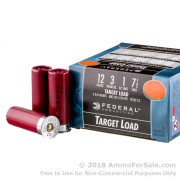 "250 Rounds of 2-3/4"" 1 ounce #7 1/2 shot 12ga Ammo by Federal Top Gun"