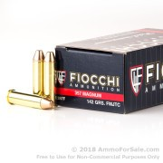 50 Rounds of 142gr FMJTC .357 Mag Ammo by Fiocchi