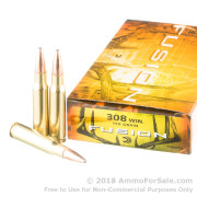20 Rounds of 150gr Fusion .308 Win Ammo by Federal