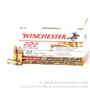 222 Rounds of 36gr CPHP .22 LR Ammo by Winchester