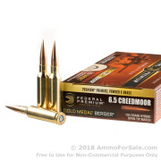 20 Rounds of 130gr OTM 6.5mm Creedmoor Ammo by Federal