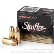 20 Rounds of 180gr JHP .40 S&W Ammo by PMC