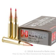 20 Rounds of 178gr ELD-X .308 Win Ammo by Hornady Precision Hunter