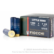 250 Rounds of 1 ounce #7 1/2 shot 12ga Ammo by Fiocchi