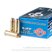 50 Rounds of 300 gr SJSP .44 Mag Ammo by Prvi Partizan