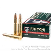 200 Rounds of 150gr PSP 30-30 Win Ammo by Fiocchi