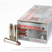 50 Rounds of 158gr JHP .357 Mag Ammo by Winchester Super-X