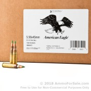 1000 Rounds of 62gr FMJ 5.56x45 Ammo by Lake City
