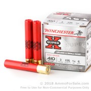 25 Rounds of 11/16 ounce #6 shot .410 Ammo by Winchester