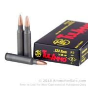 1000 Rounds of 75gr HP .223 Ammo by Tula